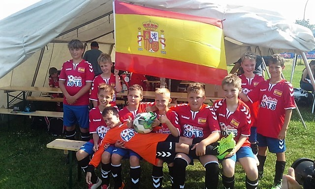 Mannschaftsfoto E-Jugend FSV `95 Fal-Ke