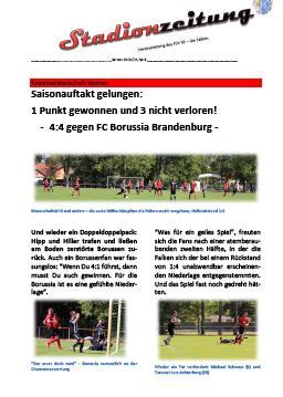 Stadionzeitung Nr. 9