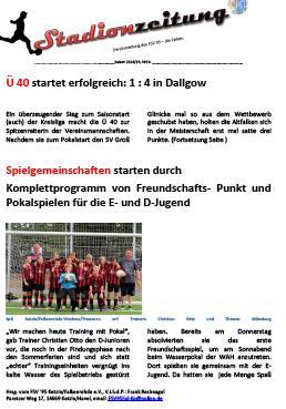 Stadionzeitung Nr. 10