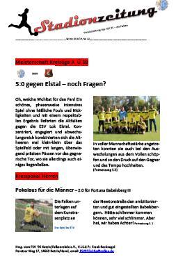 Stadionzeitung Nr. 12