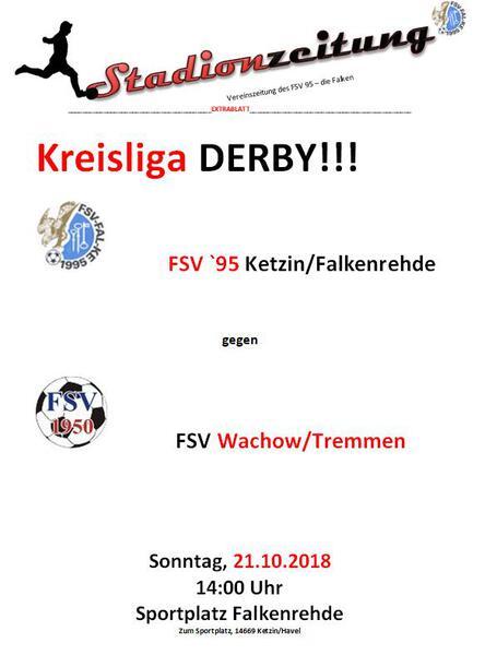 Derby am 21.10., 14:00 Uhr