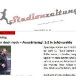 Stadionzeitung Nr. 15