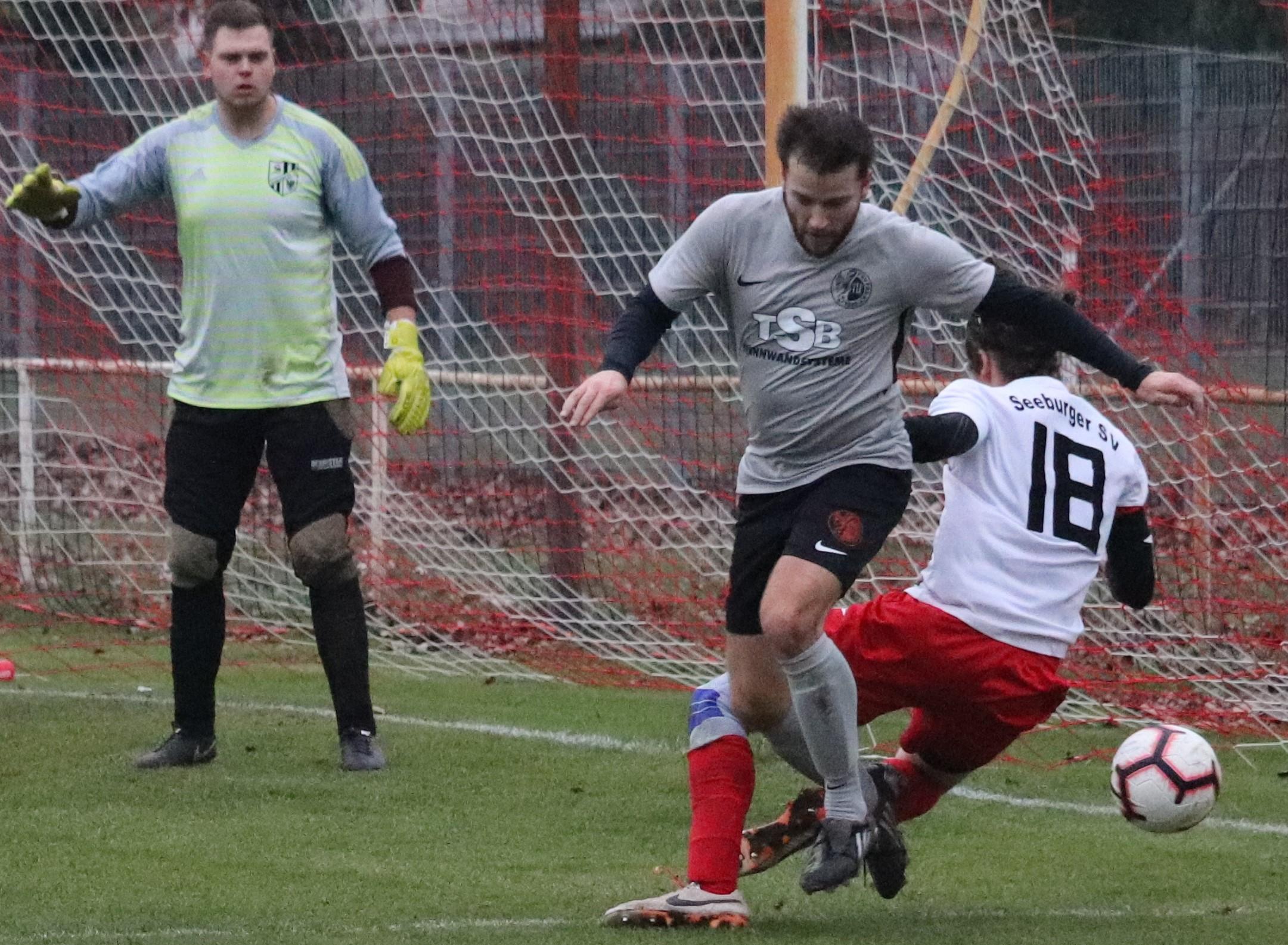 Voller Einsatz, volle Punkte – 2:0 gegen Seeburger SV