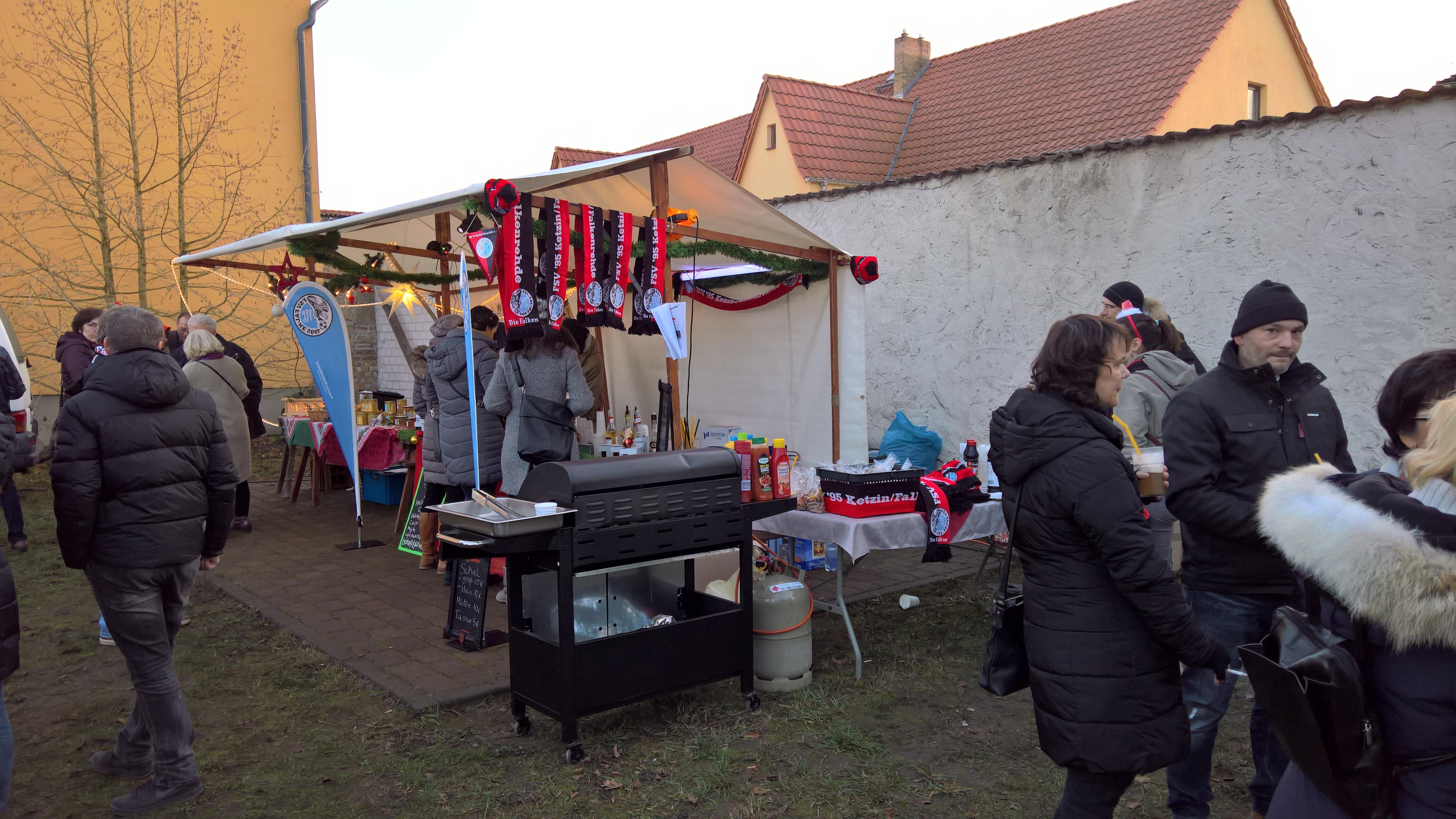 Weihnachtsmarkt 2018 – Falke war dabei