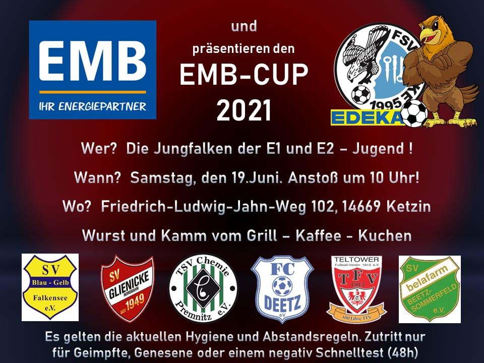 KEINE Testpflicht mehr für EMB-Turnier am 19.06.