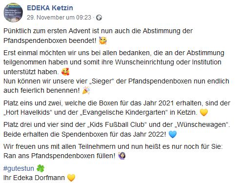 Kids Club bekommt Edeka-Pfandboxen, aber erst 2022