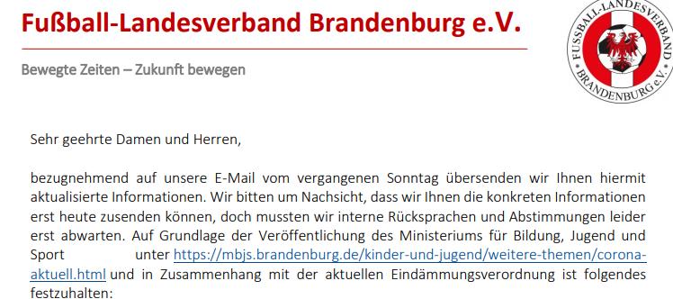 Offizielle Vereinsinfo des FLB