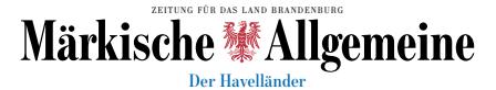 Lesestoff in der Märkischen Allgemeinen (Der Havelländer)