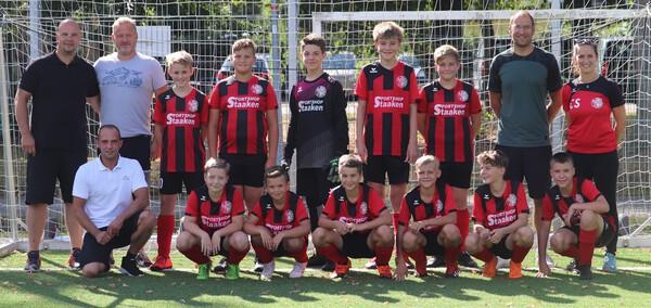 D-Junioren 2020 Mannschaftsfoto