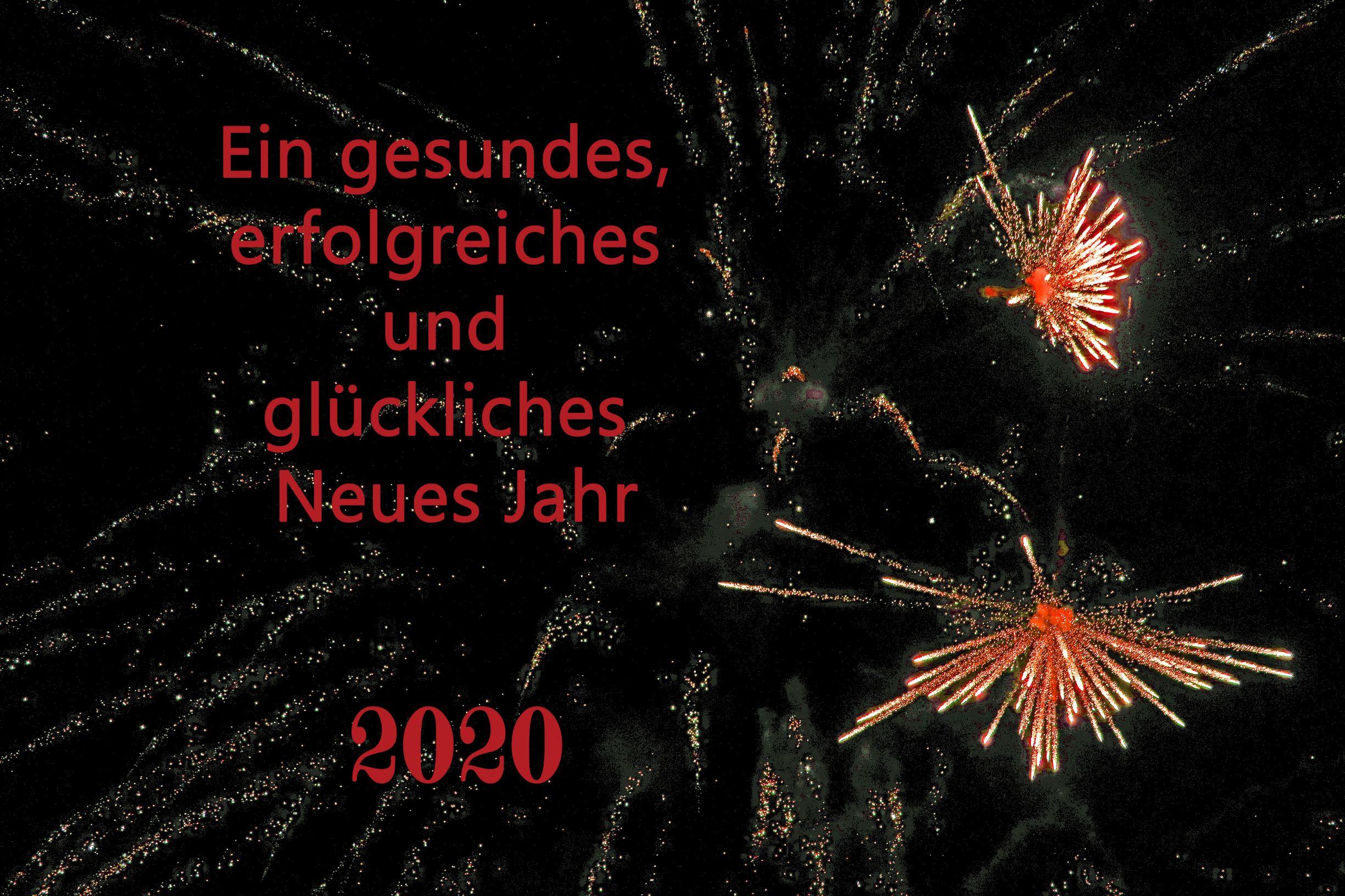 Prosit Neujahr ….