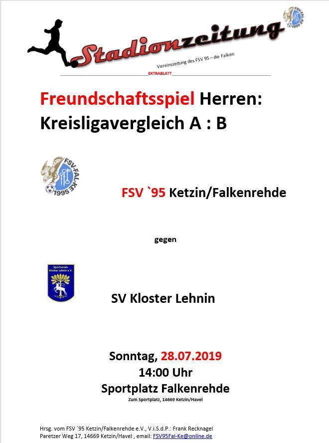 Die Liga-Challenge: Kloster Lehnin zu Gast in Falkenrehde