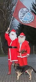 Weihnachtsmanntreffen in Neu Falkenrehde